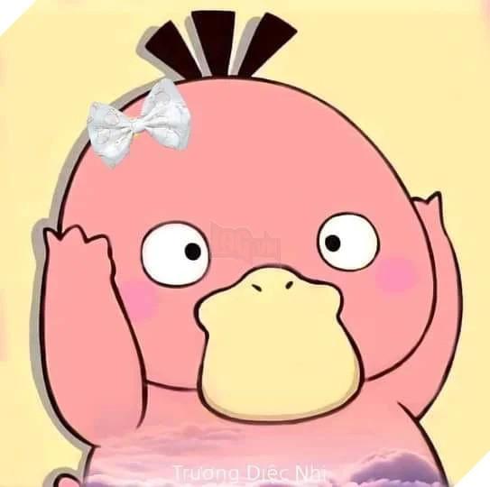 Avatar vịt hồng đánh bay hot trend avatar vịt vàng