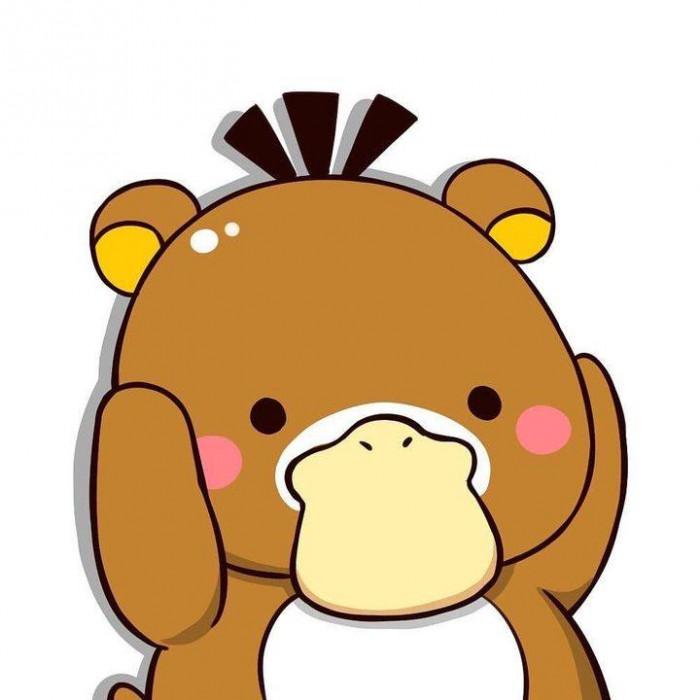 Vịt Vàng avatar đóng giả gấu nâu
