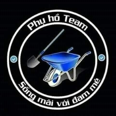 Logo phụ hồ team, sống mãi với đam mê