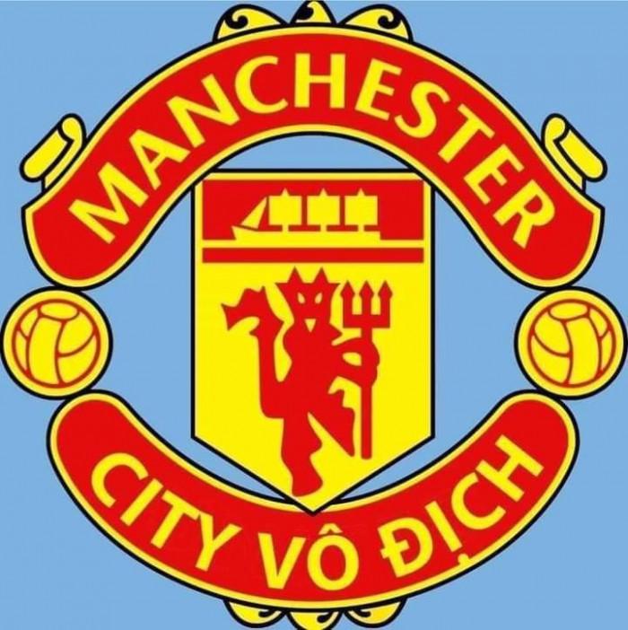 Logo MU: Manchester City vô địch