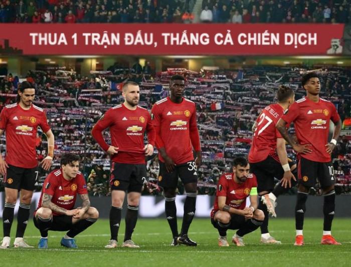 Đội bóng MU thua 1 trận đấu thắng cả chiến dịch